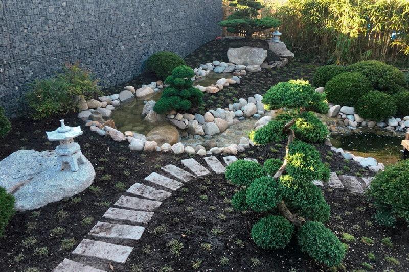 Villa tuin villapark weerribben