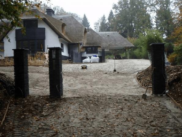 Landelijke tuin rotgers en van ingen for Oprit ontwerp