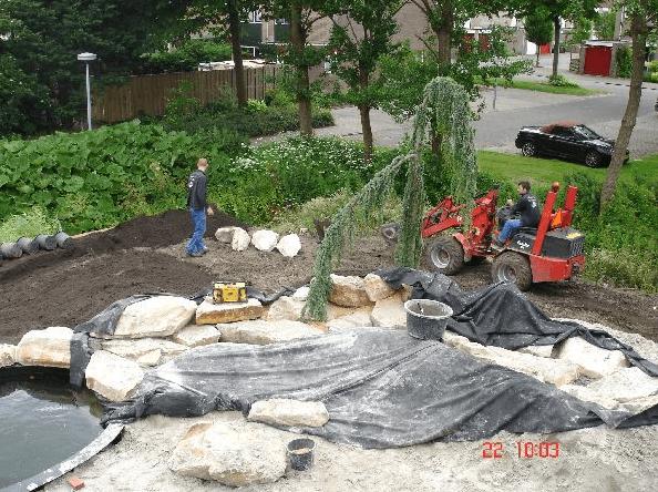 Rotsblokken Voor Tuin : Oosterse tuin ii rotgers en van ingen